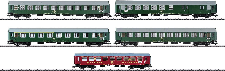 Mrklin 42980 - Interzonen-Zug-Wagenset DR DDR