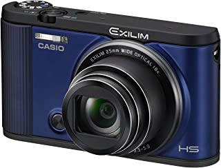 CASIO デジタルカメラ EXILIM EX-ZR1600BE 自分撮りチルト液晶 オートトランスファー機能 Wi-Fi/Bluetooth搭載 ブルー