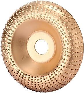 kann verwendet werden f/ür Holz Goldfarben f/ür Winkelschleifer Schleifscheibe f/ür Winkelschleifer aus Holz Schleifen Schleifen Schleifscheibe zum Schleifen von Holz und Schleifen