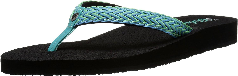 Cobian Women's LALATI Flip-Flop, Aqua, 10 M US