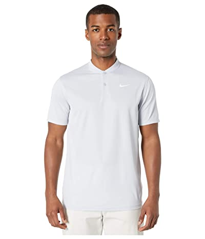 Nike Golf Dri-FITtm Victory Blade Polo (Sky Grey/White) Men