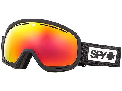 Spy Optic Marshall (Matte Black HD Plus Bronze w/ Red Spectra Mirror) Snow Goggles