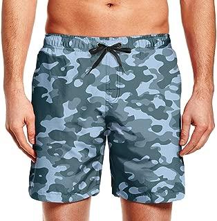 Mens Beach Short Art Colorful camo Swim Multicolor Shorts