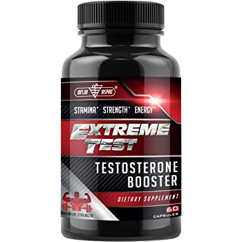 Test Boost Advanced Dietary Supplement - Male Enhancement Formula - Powerful Stamina, Strength, Energy & Endurance Supplement - Supports Healthy Test Training & Natural T Levels - 60 Capsules