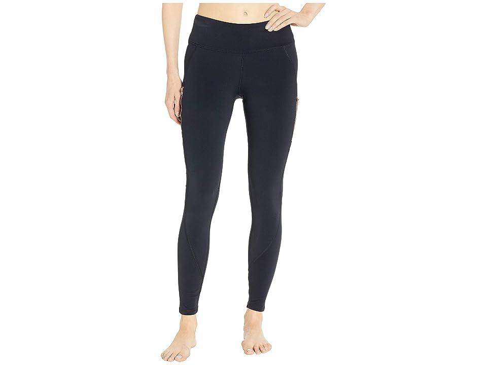 SHAPE Activewear Blaze Fleece Leggings (Black) Women