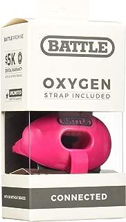 pink football pacifier