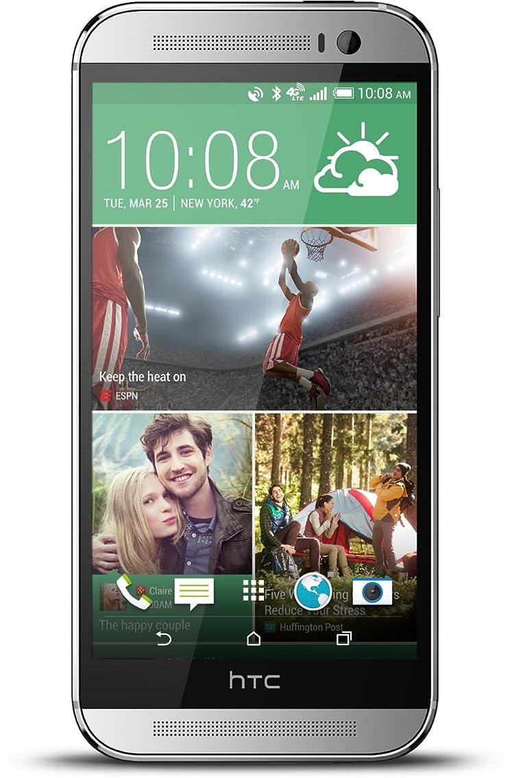 HTC One M8 32GB Unlocked GSM 4G LTE Quad-Core Smartphone - Silver
