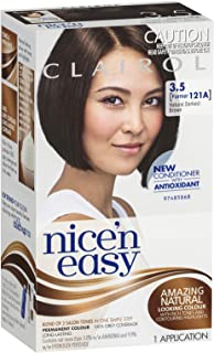 Clairol Nice 'N Easy, 3.5 Natural Darkest Brown, 1 Application