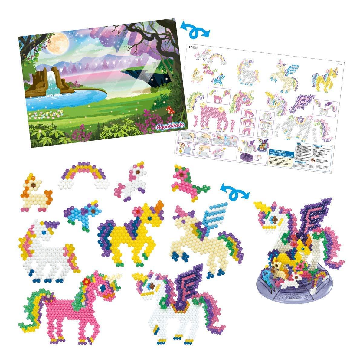 Aquabeads- Juego de Unicornio mágico, Color — (Epoch para Imaginar 31489): Amazon.es: Juguetes y juegos