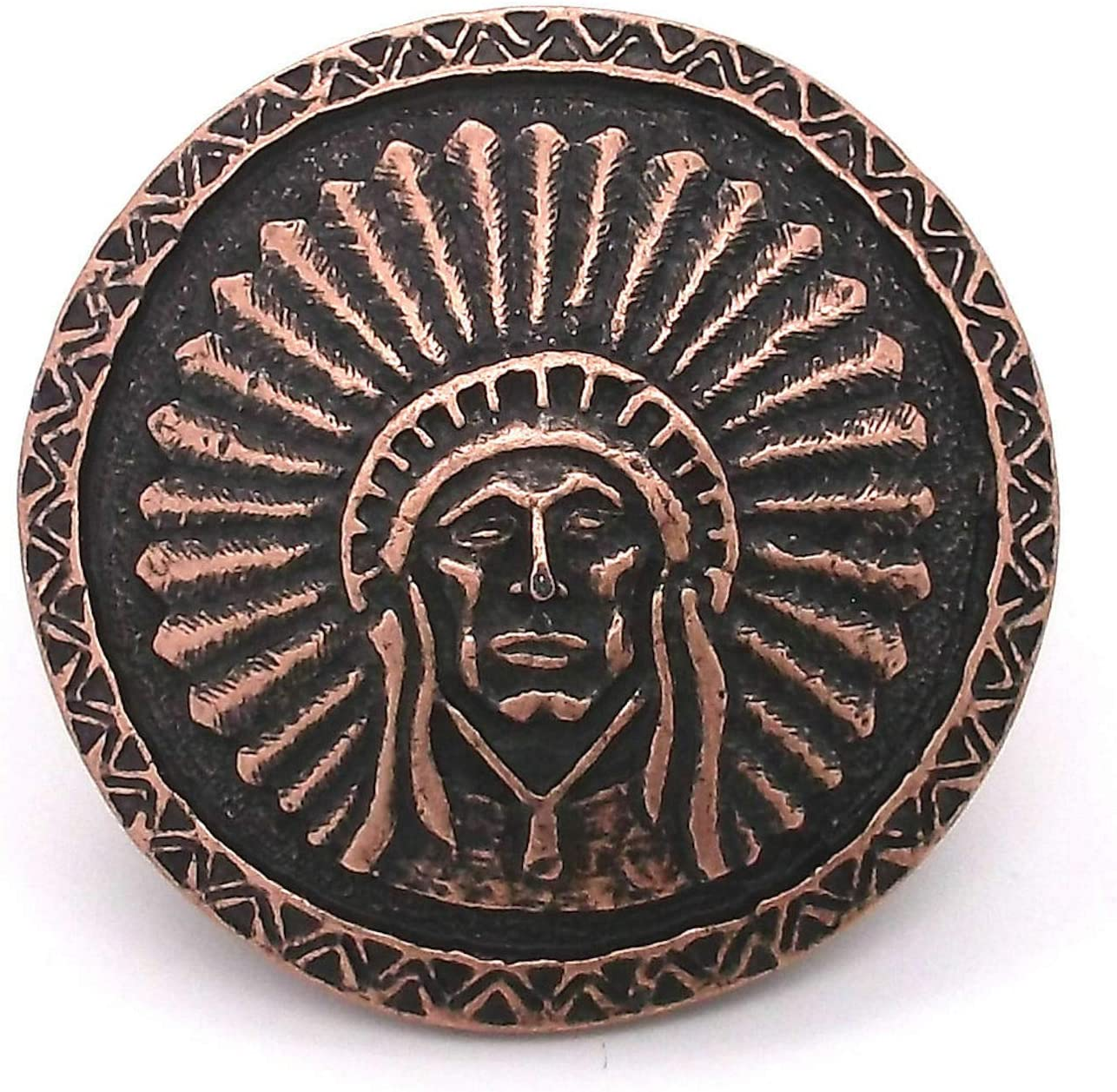 Conchos Leathercraft Accessories Southwest Chief Store Antique Copper Trust
