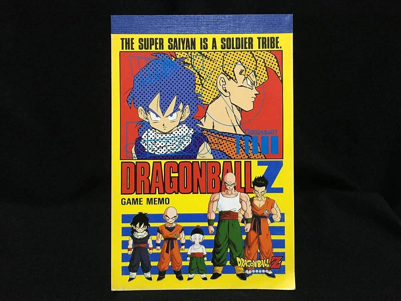 漏斗神経障害伝えるショウワノート ドラゴンボールZ ゲームメモ 少年ジャンプ アニメ 日本製 当時もの