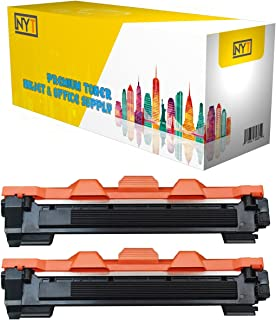 New York Toner New Compatible 2 Pack TN1000 High Yield Toner for Brother : HL-1110 | HL-1112 | HL-1210W ; DCP-1510 | DCP-1512 | DCP-1610W ; MFC-1810 | MFC-1910W - Black