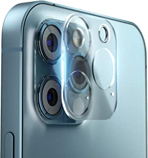 iPhone12Pro カメラフイルム アイフォン12 Pro レンズ保護フィルム 【2枚セット】 iPhone 12 Pro 6.1インチ 3眼レンズ カメラ強化ガラスフイルム 【最高硬度9H/耐衝撃/防塵防指紋/貼り付け簡単/99%高透過率】