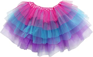 Adult Plus Kids Size 6 Layer Fairy Tutu Skirt Halloween Costume Dress