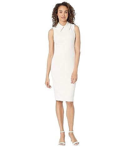 Calvin Klein Sheath Dress with Collar Women