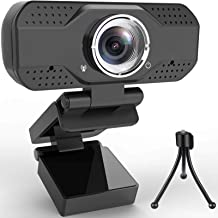 Webcam with Microphone HD 1080P, Alcyoneus Web Camera for Computer PC Laptop Desktop, USB Webcam for Streaming/Video Calli...