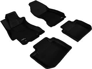 3D MAXpider L1SB02001509 Black All-Weather Floor Mat for Select Subaru WRY STI Models Complete Set