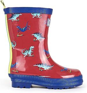Printed Wellington Rain Boots, Botas de Agua para Niños