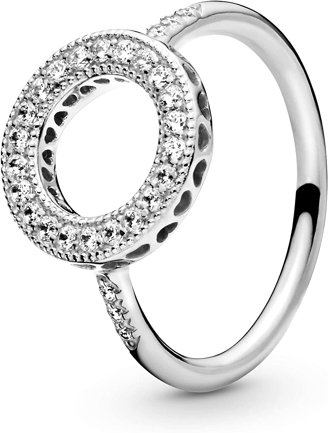 Pandora Jewelry Hearts of Halo St Sale Special Price Cubic in Ring specialty shop Zirconia