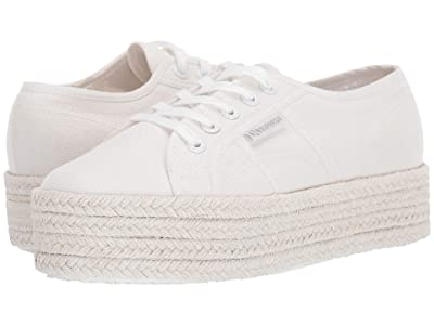 Superga 2790 Cotmultiropew (Total White) Women