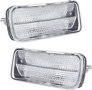 Side Marker Signal Corner Parking Light Pair Set for Camaro Firebird Trans Am