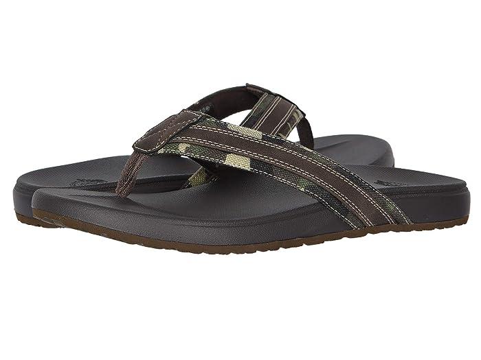 Dockers  Fletcher (Camo/Dark Brown) Mens Sandals