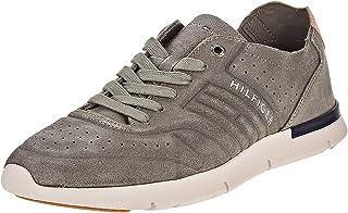 Tommy Hilfiger Fashion Sneaker for Men - grey, Size 40 EU