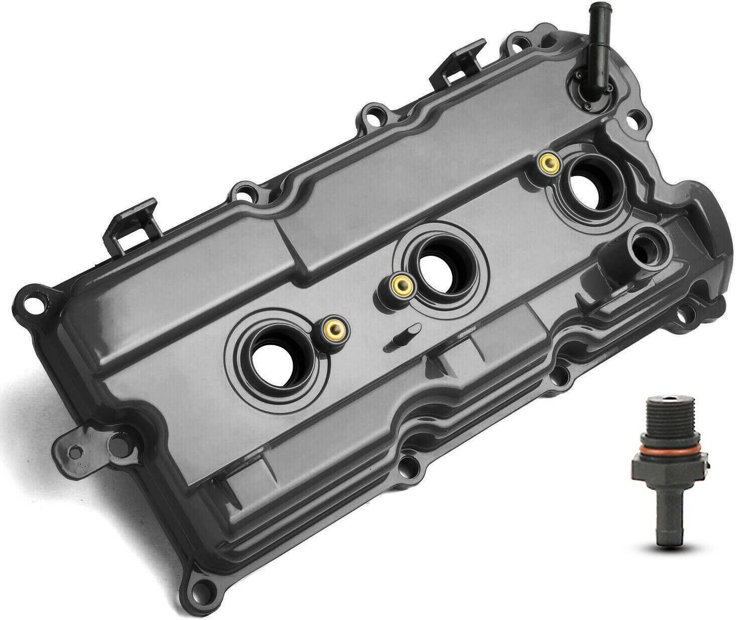 A-Premium Rear Right half Engine Valve with Limited time trial price w Gasket Compatible Cover