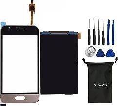 Sunways Touch Digitizer Screen + LCD Display Screen for Samsung Galaxy J1 Mini Prime J106F J106B J106H (Golden)