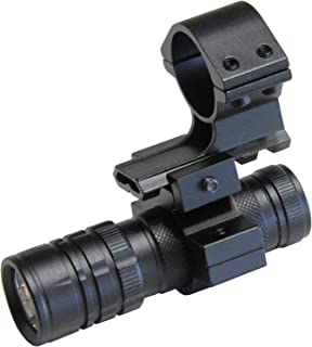 M1SURPLUS Tactical LED Flashlight Kit with Curly Cord Switch and Mount for Maverick 88 Mossberg 500 590 835