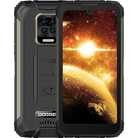 "DOOGEE S59 [2021] Movil Resistente Agua y Golpes, 10050mAh 4GB RAM+64GB ROM, lP68 IP69K Móvil, Potente Altavoz 2 W, Cámara Cuádruple 16MP Smartphone Android 10 4G, 5.71"", NFC/GPS, Negro"