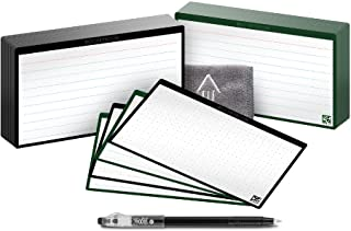 RocketbookCloud Cards - Eco-Friendly Reusable Index NoteCards With 1 Pilot FriXion ColorStick Pen & 1 Microfiber Cloth I... photo
