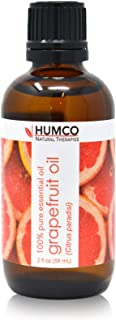 Humco Natural Therapies GRAPEFRUIT Oil with Dropper, 2 Oz,-100% Pure Essential Oil - Improve Appearance of Skin, Use Befor...