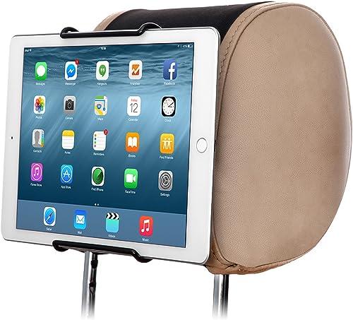 TFY Universal Car Headrest Mount Holder Fits ALL 7 Inch to 10 Inch Tablets - Apple iPad iPad 4 (iPad 2 & 3) iPad Air ...