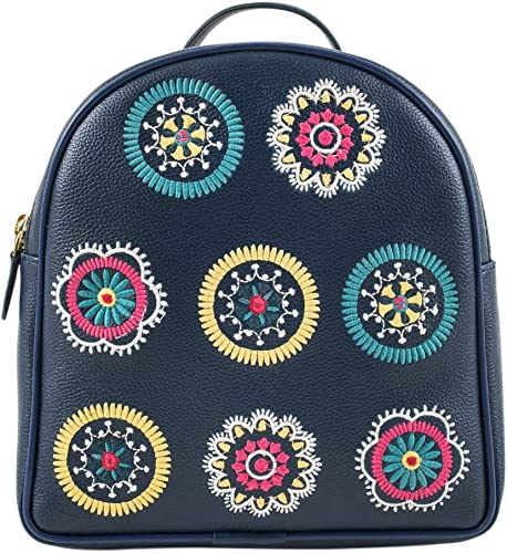Scallop Embroidery Backpack
