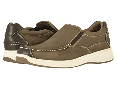 Florsheim Great Lakes Moc Toe Slip-On (Stone Crazy Horse/Milled) Men