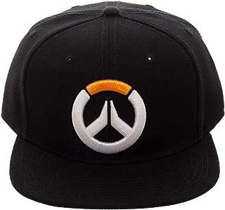 Bioworld Embroidered Overwatch Game Logo Snapback Cap Hat
