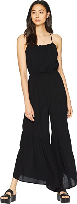 Makin' Moves Crinkle Rayon Jumpsuit
