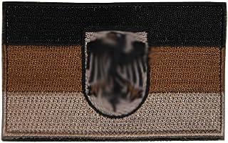 Unbekannt Insignias de la Marca Alemana en diseño Tropical, Modelo pequeño o Grande con Velcro.