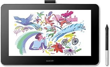 【Amazon.co.jp限定】 ワコム 13.3インチ 液晶ペンタブレット 液タブ Wacom One 13 アマゾンオリジナルデータ特典付き DTC133W1D