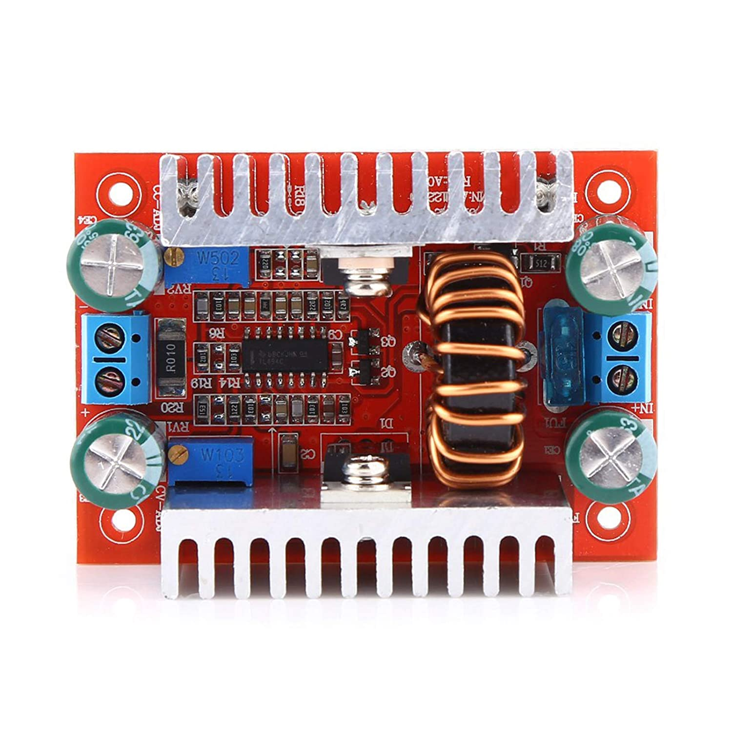 Akozon Boost Module 400W DC-DC Step-up Boost Converter Constant Current Power Supply Module LED Driver
