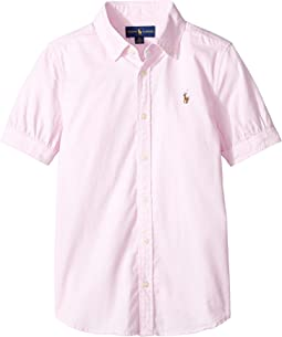 Polo Ralph Lauren Kids Solid Oxford Shirt (Big Kids)