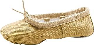 Linodes Canvas Ballet Shoes/Ballet Shippers/Yoga Dance Shoes (Toddler/Little/Big Kid/Women)