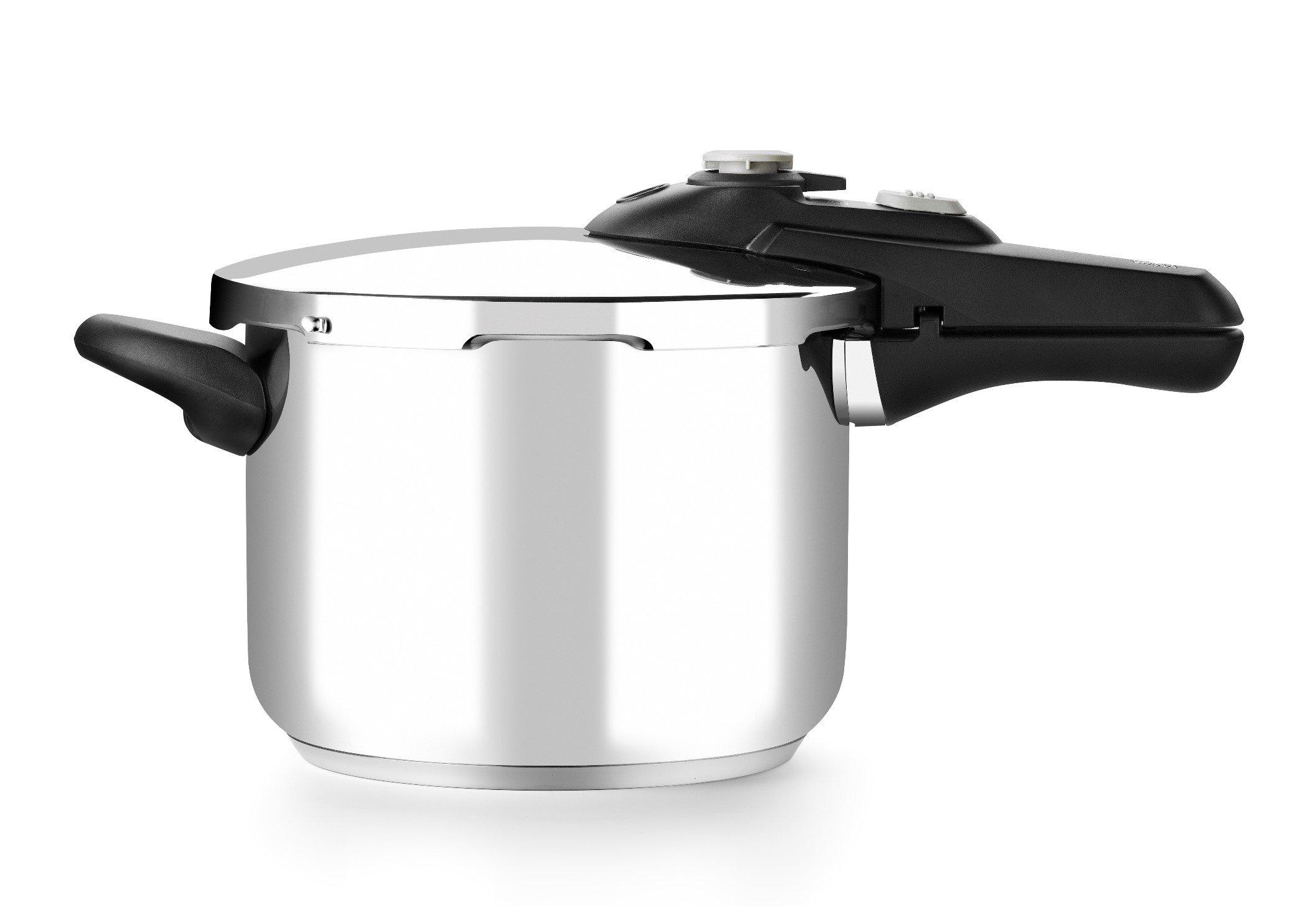 BRA Vitesse - Olla a presión rápida, 9 litros, 24 cm, acero inoxidable 18/10: Amazon.es: Hogar