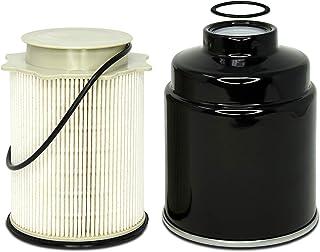 Fuel Filter Water Separator Set - Fits Ram 2500, 3500, 4500, 5500 6.7L Cummins Turbo Diesel - Years 2013, 2014, 2015, 2016...