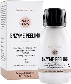 DAYTOX - Enzyme Peeling - Huidzuiverende enzymepeeling voor het gezicht - Veganistisch, Zonder Siliconen, Made in Germany...