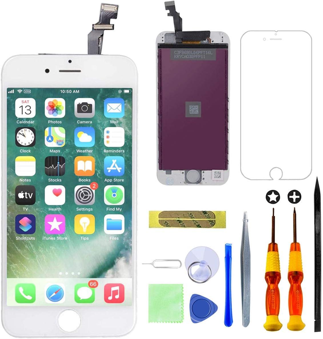 GULEEK Pantalla para iPhone 6 4,7