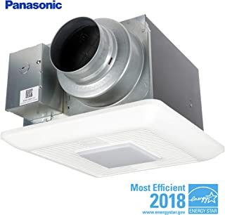 Panasonic FV-0511VKSL2 WhisperGreen Multi-Flow Bathroom Fan, White