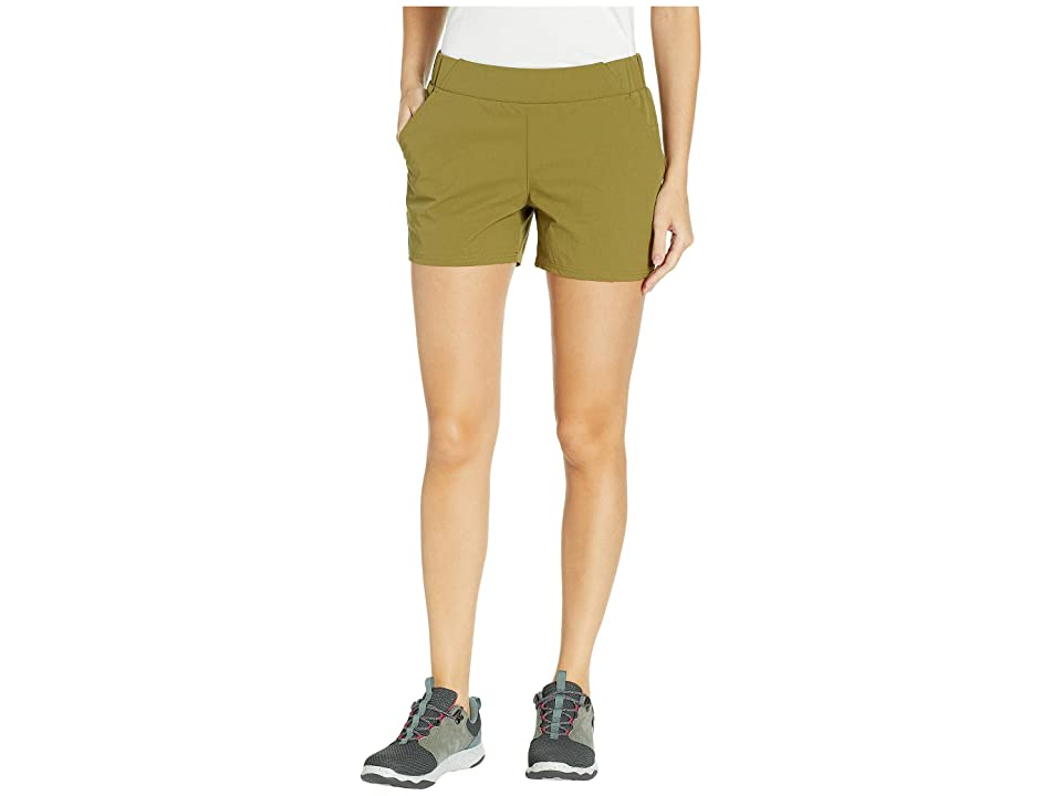 United By Blue Anywhere Stretch Shorts (Olive) Women