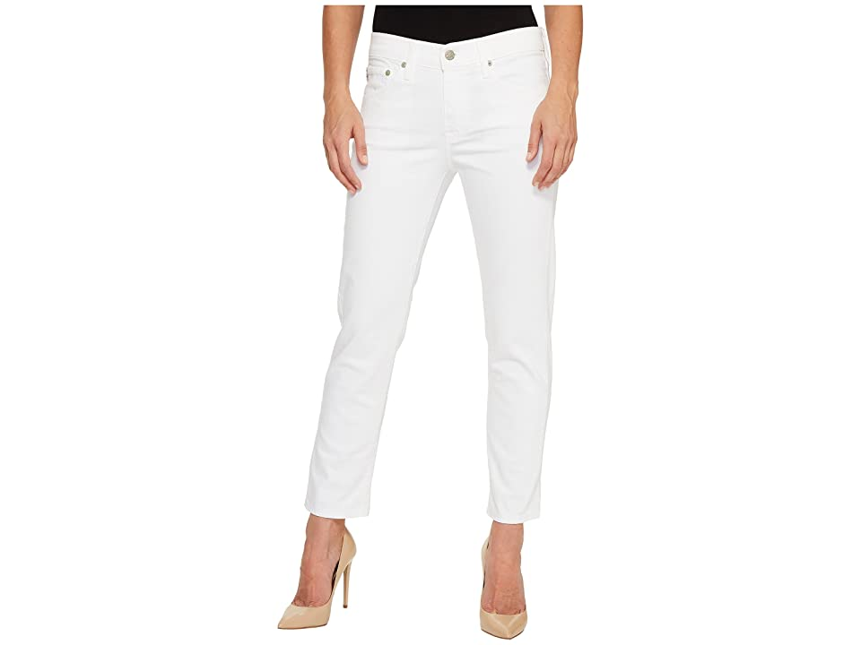 AG Adriano Goldschmied Ex-Boyfriend Slim in 1 Year White (1 Year White) Women's Jeans
